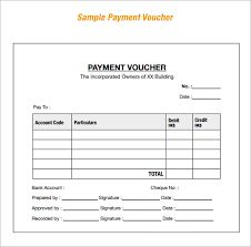 Free Coupon Book Template Payment Voucher Sample   Documents In PDF  Loan Payment Coupon Template