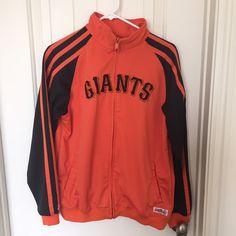 SF Giants baseball Jacket Great jacket. 100% polyester. Official gear. Jackets & Coats Utility Jackets
