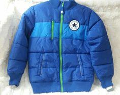 Converse Boys KidsAll Star Chuck Taylor Puffer Parka Jacket sz M 10 12 NET $100 #Converse #Parka #Everyday