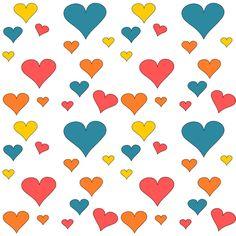 corazón digital gratuito papel scrapbooking - ausdruckbares Geschenkpapier - regalo de promoción | MeinLilaPark