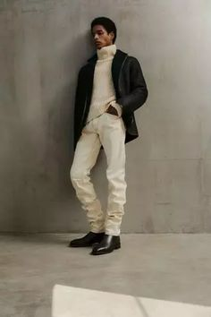 Men's Outfits 2021   Lookastic 2010s Fashion, Mens Fashion, Vogue Paris, Mens Fall, Shearling Coat, Street Look, Models, Fashion Show Collection, Mannequins