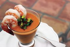 An EXCLUSIVE recipe from Cal-a-Vie Health Spa: Bloody Mary Gazpacho! #yum