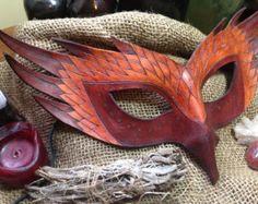 Ivy Leaf Folia Mask by MythicalDesigns on Etsy