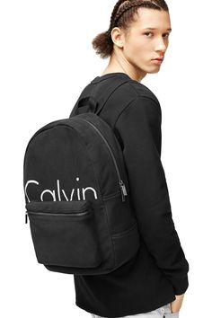 Calvin Klein Jeans - Logo Fleece Backpack - $ 128