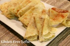 Gluten Free Lefse - are you kidding me? I miss Lefse soooo much!!!