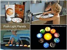 So clever, such a good way to get the kids to learn a little about our solar system!