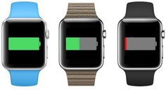 Apple Watch hoping for optimal battery life