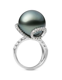 Mikimoto I'm not supporting the diamond industry when or if I ever get engaged, so imagine something like this with some other precious stones as an engagement ring.