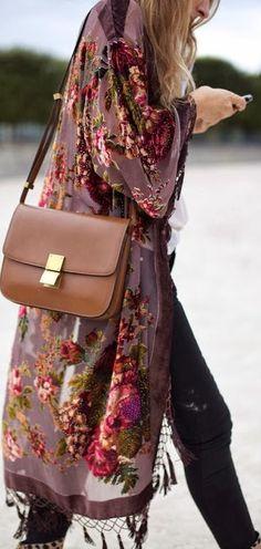 Bag and kimono