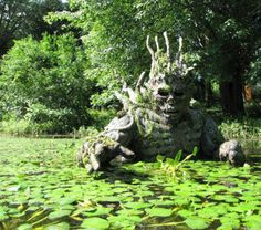 Statue for our pond.