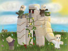 Un Golem de #Minecraft pour la paix Images Minecraft, Minecraft Mobs, Minecraft Fan Art, Minecraft Buildings, Cute Wallpaper Backgrounds, Cute Wallpapers, Kawaii, Minecraft Real Life, Minecraft Wallpaper