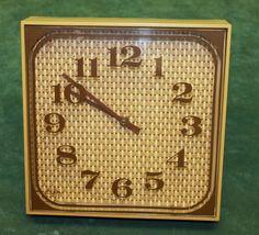 MID CENTURY MODERN ELGIN CLOCK
