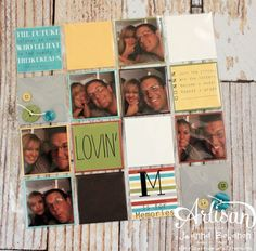 My Digital Studio | Such a fun way to include a ton of photos on your layouts-by Jeanna Bohanon