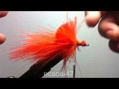 ▶ Fly tying a Red bugger - YouTube.