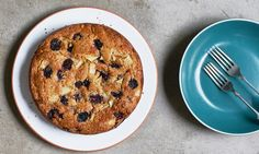 Ruby Tandoh's pear, blackberry and coconut cake recipe   Life and style   The Guardian