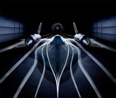 """rhubarbes: """" Blackbird Aerodinamic via Aero-Pictures. More Airplanes here. """""""
