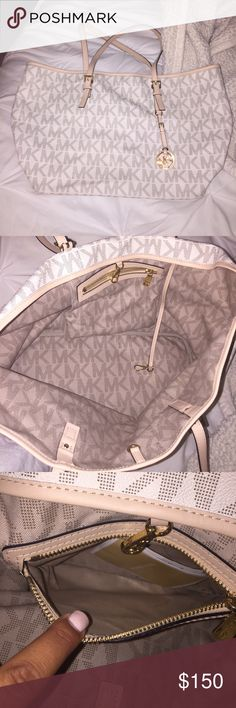 Michael Kors shoulder bag👑🎀 Never been used MK bag. perfect condition I swear by it. Will take offers! MICHAEL Michael Kors Bags Totes