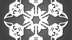 Artist Anthony Herrera has a sweet set of Star Wars paper snowflakes available for download on his website.