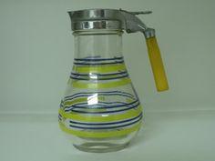 Syrup Dispenser or Milk Dispenser With by DesiRocksVintage on Etsy, $22.50