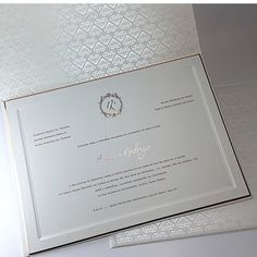 Convite do casamento de Preta Gil e Rodrigo Godoy.