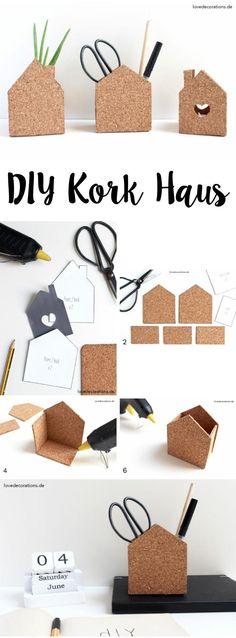 DIY Cork House | DIY Kork Haus