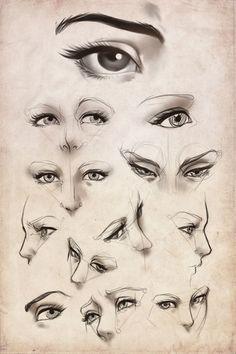 """ART In G 자료 봇 on Twitter: """"다양한 각도의 눈 스케치 #눈 #인체 #스케치 #튜토리얼 #자료 #아트인지 #Eye #Drawing #Tutorial #Reference #ArtInG https://t.co/dOBR5XCuYq"""""""