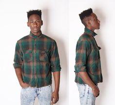 Pendleton Men's Flannel Shirt  Flannel Shirt  Plaid by EmmettBrown, $42.00