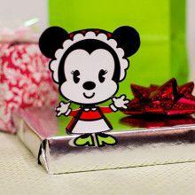 Minnie Maus Weihnachtsgeschenke Deko