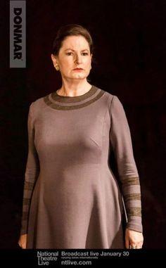 Volumnia (Deborah Findlay) Coriolanus - National Theatre Live