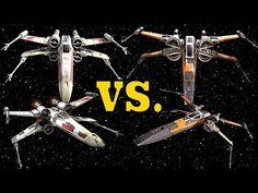Rebel T-65 X-Wing vs. Resistance T-70 X-Wing - X-Wing Starfighter Compar...