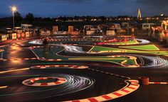 RC Car track long exposure #rcxceleration