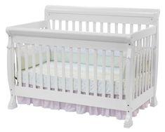 DaVinci Kalani Convertible Wood Crib Nursery Set w/ Toddler Rail in White DaVinci Kalani Convertible Wood Baby Crib with Toddler Rail in White 4 In 1 Crib, Wood Crib, Sr1, Bed Rails, Thing 1, Crib Sets, Convertible Crib, Babies R Us, Nursery Furniture