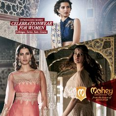 Lehengas, Sarees, Suits, Gowns of our times. Now available in your city!