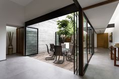 Gallery of Two Courtyards House / Muñoz Arquitectos - 6  ~ Great pin! For Oahu architectural design visit http://ownerbuiltdesign.co