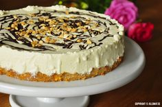 Savory magic cake with roasted peppers and tandoori - Clean Eating Snacks Peanut Butter Cheesecake, Chocolate Cheesecake, Cheesecake Recipes, Dessert Recipes, Frozen Chocolate, Chocolate Peanuts, Chocolate Peanut Butter, Lchf, Cake Tins