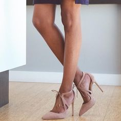 2bf8a21dd33 Daya by Zendaya  Aaron  Pointy Toe Pump in Blush Suede