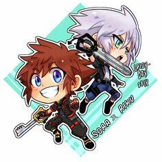 Riku & Sora || Kingdom Hearts || Cr: ℒɐızʎ ArTz