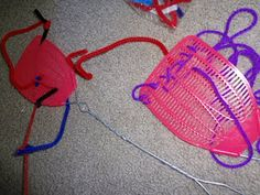 Fine Motor Fun with (unusedQ!!) fly swatters - - Re-pinned by @PediaStaff – Please Visit http://ht.ly/63sNt for all our pediatric therapy pins