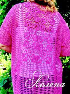 Crochet Sweater: Crochet Cardigan Pattern - Summer Cardigan