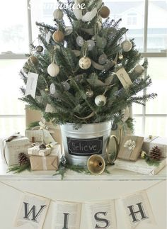 Tabletop Christmas Trees - Christmas Tree Decorating Ideas - Good Housekeeping