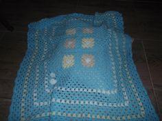 manta para bebe, de forma rectangular