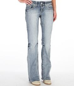 Daytrip Aquarius Flare Stretch Jean-buckle has all kinds of flares