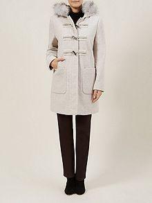 Stone Duffle Coat