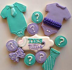 Gender reveal cookies!