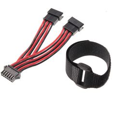 """[New] Double Battery Convert Wires 9115 9116 S911 S912 RC Car Parts """"RC Toys"""" #Unbranded"""