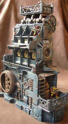 Filtration Tower #warhammer #WarGames #terrain