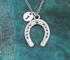 Horseshoe Necklace Silver Horseshoe Jewelry Horse Shoe Necklace Horse Necklace Horse Jewelry Lucky N Equestrian Gifts, Equestrian Jewelry, Horse Jewelry, Girls Necklaces, Silver Necklaces, Silver Jewelry, Indian Jewelry, Horseshoe Jewelry, Horseshoe Crafts