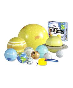 Loving this Inflatable Solar System Set on #zulily! #zulilyfinds