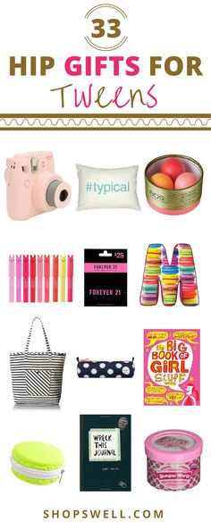 Those hard to shop for tweens? We've got some gift ideas to appeal to them.