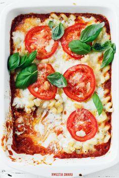 "Pomidorowe ""mac & cheese"" - Przepis"